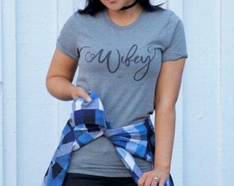 Wifey – Boyfriend Tee