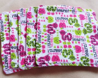 Cloth Wipes - Cloth Toilet Paper - Baby Wipes - Baby Washcloths - Family Cloth - Flannel Cloths - Flannel Washcloths - Cloth Napkins - Set
