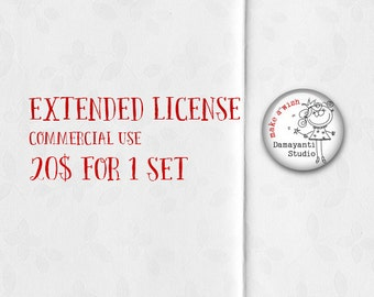 Extended Commercial Use License for One Paper pack