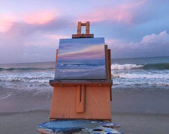 Sunrise on Vero Beach - Plein Air Seascape Painting