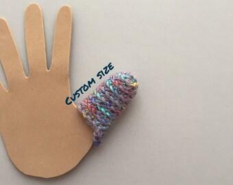 Dermatillomania Thumb Guard - BFRB help - Excoriation Disorder Long Term Bandage - Custom Size