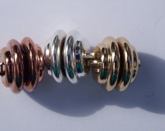 10 MM Magnetic Clasp, select Copper or silver or gold, package of 1, Heavy Duty Magnetic Clasp, Small and powerful