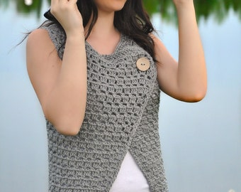 Masidon Vest Crochet Pattern pdf (Adult Sizes)