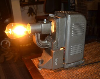 Old slide projector lamp