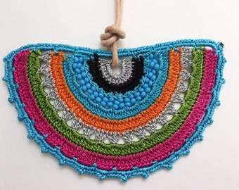 Lace Crochet Necklace (stock clearance)