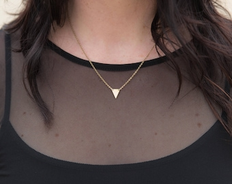 The Subtle Triangle Necklace