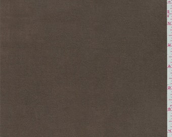 Brown Knit Microsuede, Fabric By The Yard