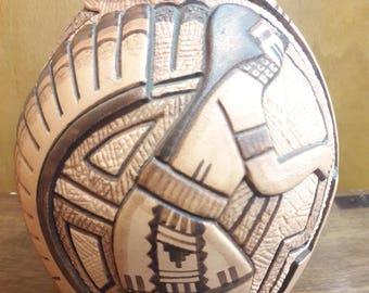 Vintage Native American Hopi Handmade Tom Polacca Nampeyo Pottery