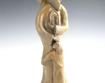 Patron of Grandfathers: Handmade St Joachim Statue (Large Size)