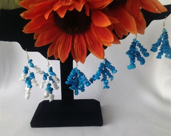 18K Vermeil Turquoise Earrings