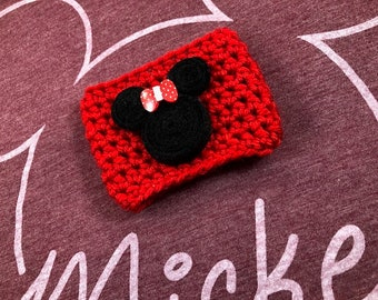 Minnie Mouse Cup Cozy