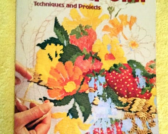 A Sunset Book, Needlepoint Techniques and Projects, 1979