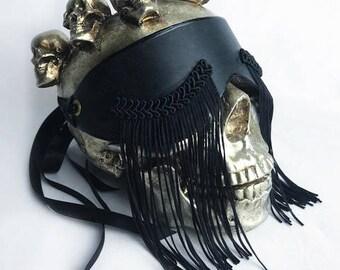 Tristesse Leather Blindfold