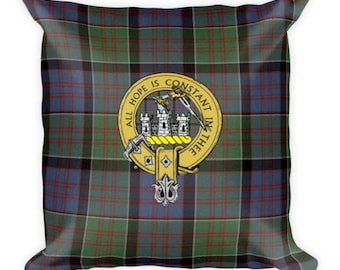 Custom Tartan Scottish Irish Plaid Pillow
