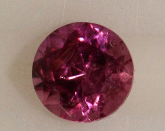 Pink Sapphire 0.177cts Round Cut 3.00mm Madagascar H9 Y9399 Gem Loose Faceted Gemstone Collector Gemology Gemological