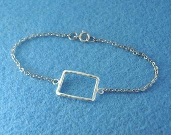 925 Sterling Silver Map Bracelet, Custom Colorado Bracelet, Personalized Map Bracelet, Anniversary Gift, Colorado jewelry,custom map jewelry