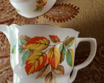 Radfords Bone China Creamer and Sugar