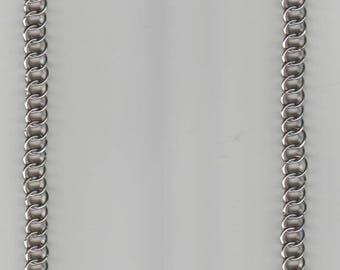 """Half Persian Necklace Stainless Steel - 23"""" Length"""