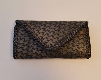 Handmade Women's Leather Clutch Wallet *Free Shipping*