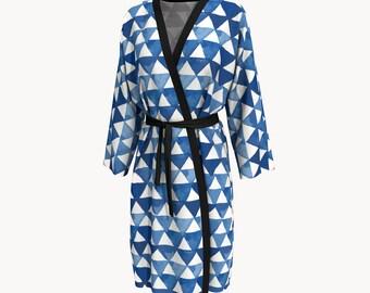 Nemo X Shibori Inspired Whale Art Kimono