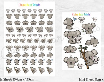 KOALA Planner Stickers (2 options)