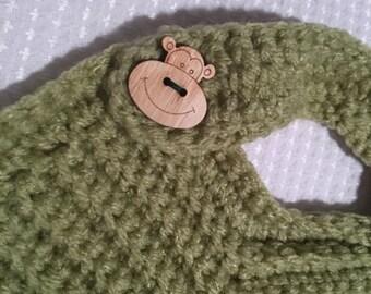 Handmade Crochet BaBy Bib NB