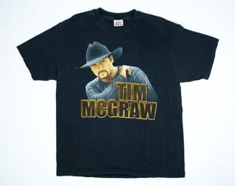 Tim McGraw Tshirt -  Tim McGraw Tour Shirt - Vintage Tim McGraw Tshirt - Country Music Tshirt