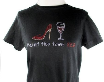 Paint the Town Red T-Shirt