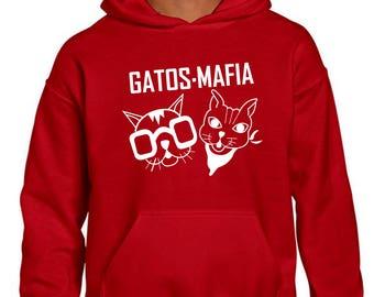"""Sweatshirt """"Cats Mafia""""-hood"""