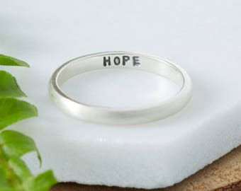 Personalised Secret Message Ring