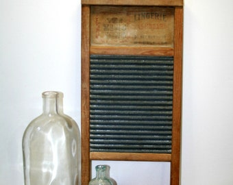 Zinc King #703 Lingerie Washboard - Antique Washboard - Playing Instrument