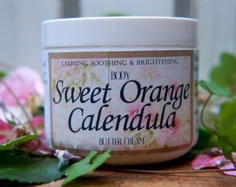 Sweet Orange Calendula Butter Cream