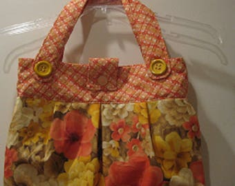 Floral Handbag/Purse/Tote