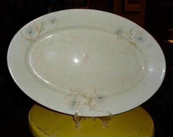 Antique Homer Laughlin American Ironstone Serving Platter c1877 – 1890