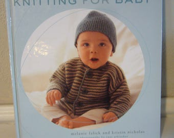 KNITTING FOR BABY Book - 30 Heirloom Projects with Complete How-to-Knit Instructions