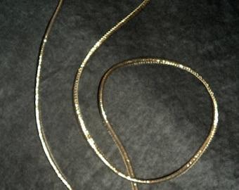 Link / bronze metallic neoprene belt
