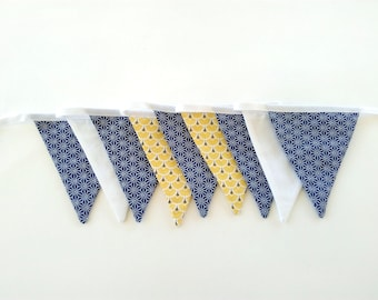 Wall for kids room decor, birthday banner, Bunting flags baptism