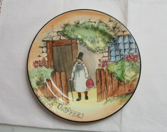 ROYAL DOULTON 'GAFFERS' Series Plate from era 1921 to 1949 - 16.5cm