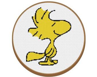 Woodstock Cross Stitch Pattern - Instant Download