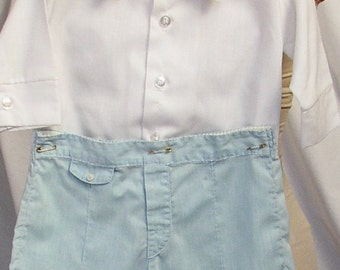 Vintage LIL BOYBLUE OUTFIT, shirt, shorts, baby, toddler, children, sweet 2 piece set