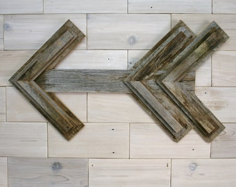 Barn Wood Arrow Wall Decor