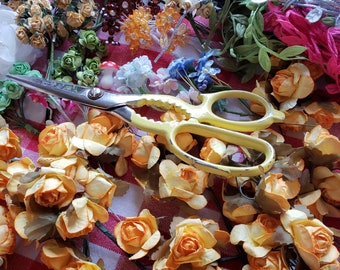 Blumen aus Papier - Blatt Rebe Trim-Band - Destash Inspiration Kit - 36 Artikel