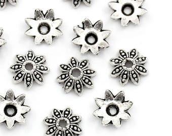 Pearls flower 8x8mm