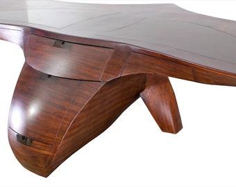 Eagle Wooden Desk. Unique wood office desk
