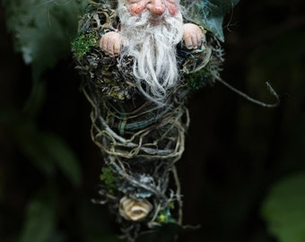 Monsieur Winnibert, handmade decoration, whimsical, gnom, miniature doll, zauberer, art doll
