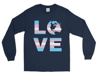 Transgender Love Long Sleeve Tshirt
