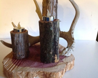 Shed Antler Candle Holder