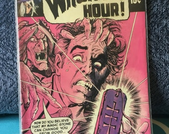 It's 12 O'Clock.. Witching Hour! Comic Book!