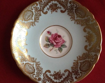 Paragon Bone China saucer H.M. The Queen & H.M. Queen Mary