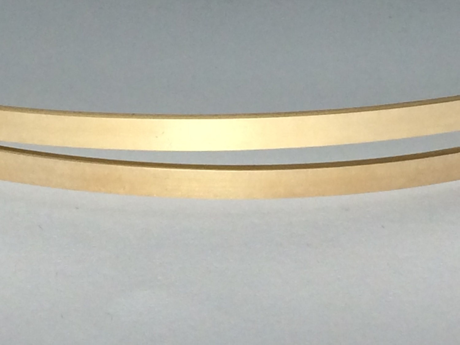 14kt yellow gold fill flat stock, flat wire, rectangle wire, sizing ...